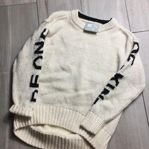 GAP sweater be one of a kind